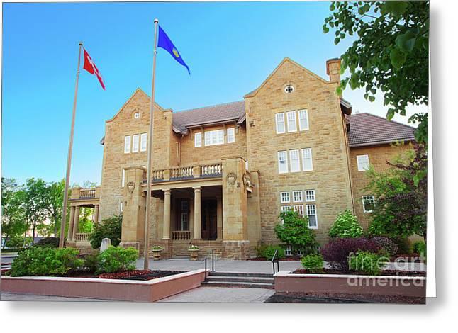 Government House  Greeting Card by Ian MacDonald