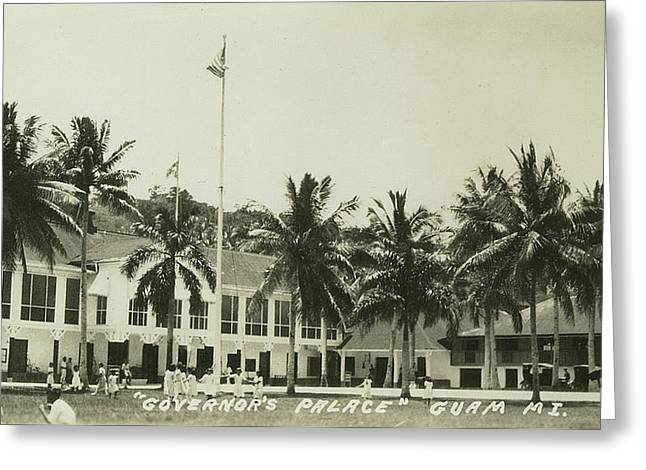 Governors Palace Guam Greeting Card