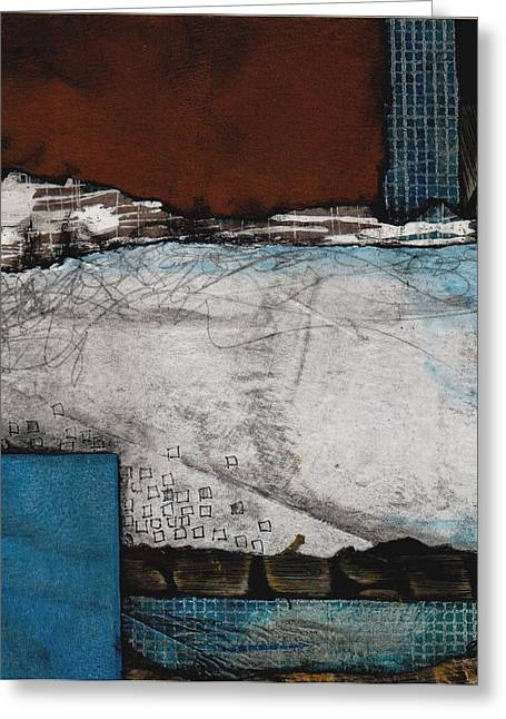 Grace And Space Greeting Card by Laura  Lein-Svencner