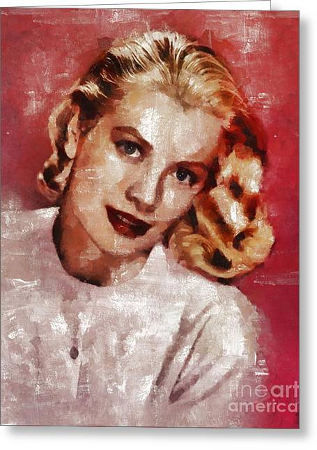 Grace Kelly, Actress And Princess Greeting Card