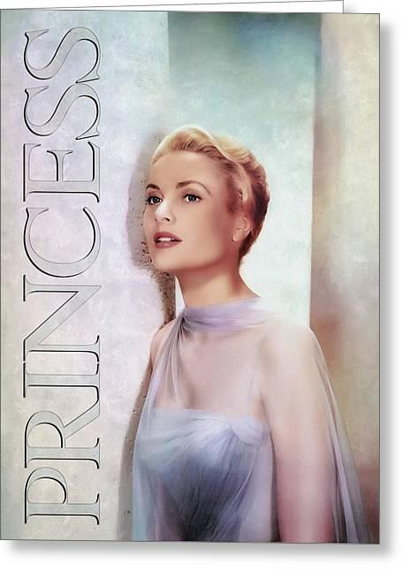 Grace Kelly - Princess Greeting Card