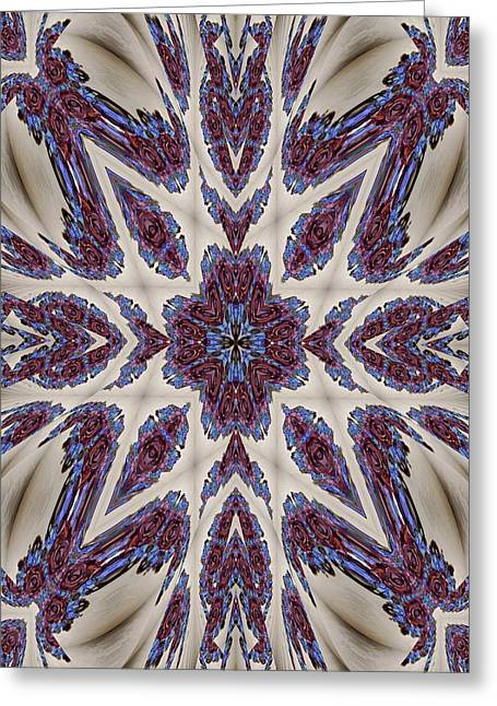 Graceful Tapestry Greeting Card by Ricky Kendall