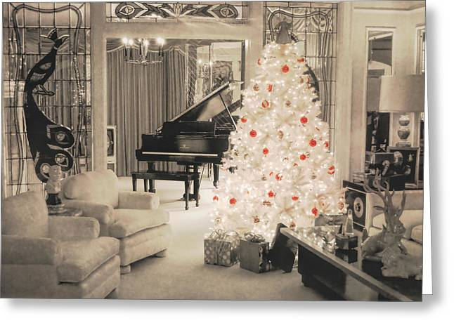 Graceland Holiday Greeting Card by JAMART Photography