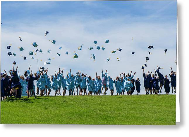 Graduation Day Greeting Card by Alan Toepfer