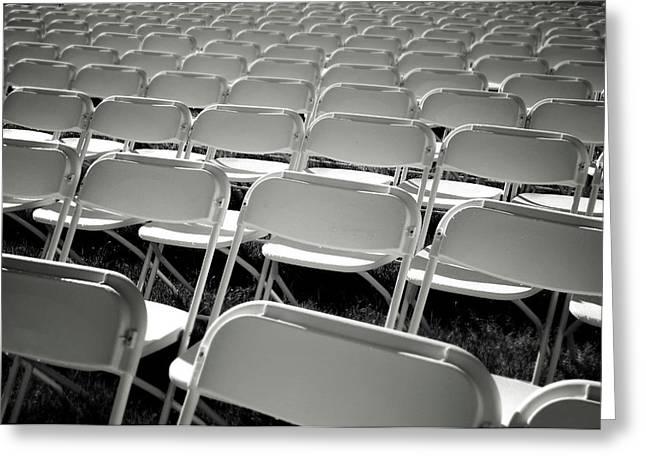 Graduation Day- Black And White Photography By Linda Woods Greeting Card