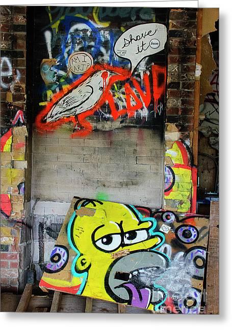 Graffiti 5 Greeting Card
