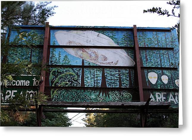 Graffiti 5 Greeting Card by Holly Ethan