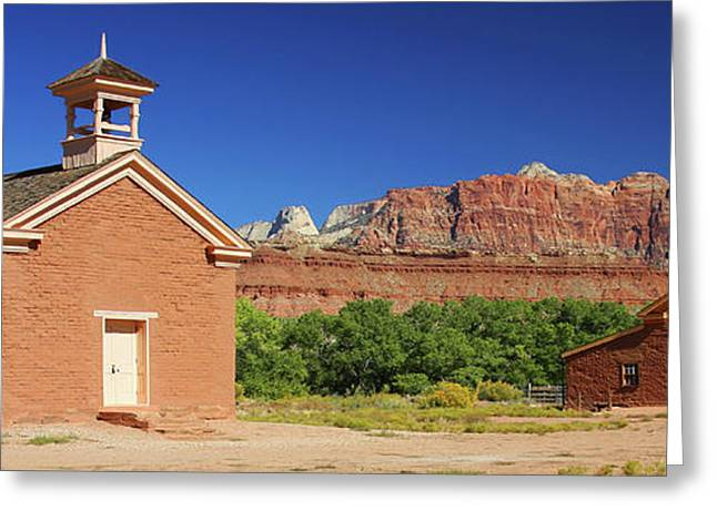 Grafton Ghost Town - Color Greeting Card