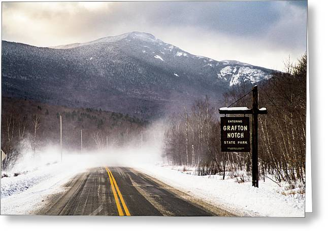Grafton Notch State Park Greeting Card by Benjamin Williamson