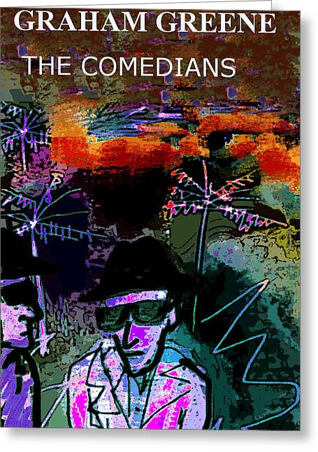Graham Greene Comedians Poster  Greeting Card