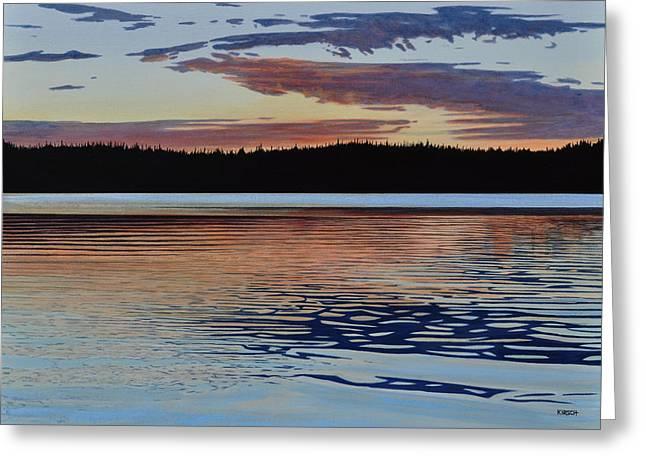 Graham Lake Greeting Card