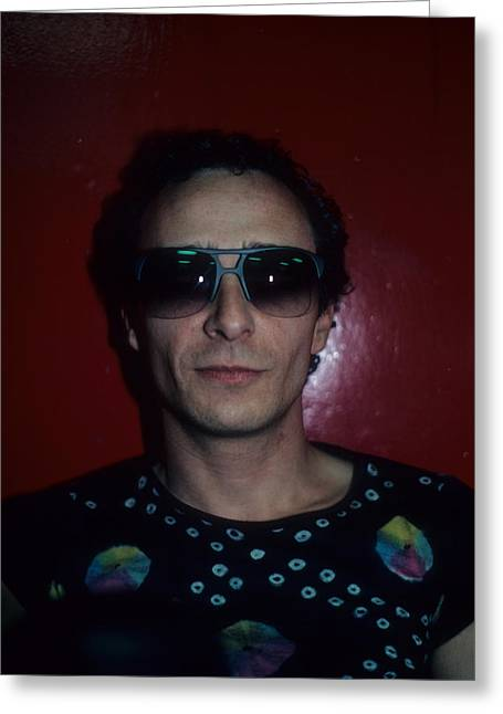 Graham Parker Greeting Card by Rich Fuscia