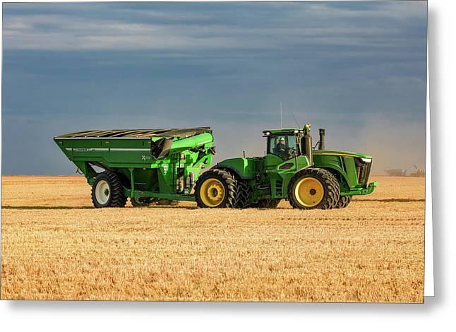 Grain Cart Greeting Card