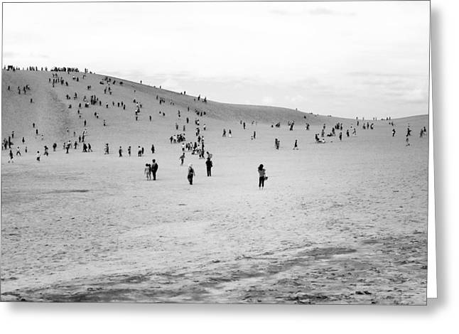 Greeting Card featuring the photograph Grains Of Sand by Hayato Matsumoto