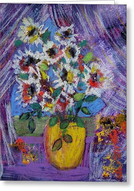 Gramma's Flowers Greeting Card