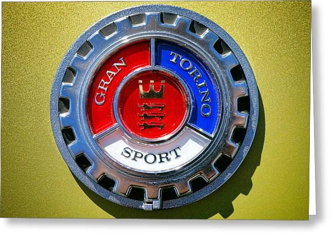 Gran Torino Sport Greeting Card by Olivier Le Queinec