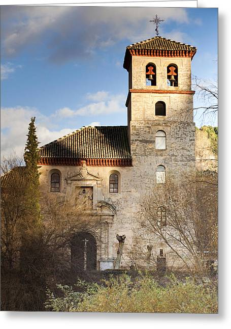 Granada Greeting Card by Andre Vicente Goncalves