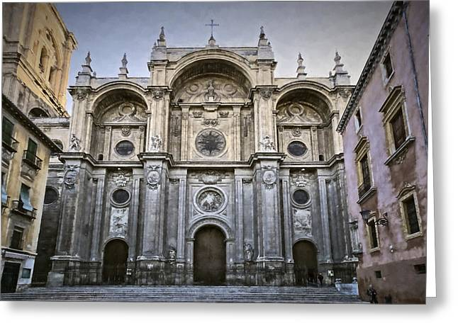 Granada Cathedral II Greeting Card