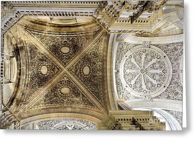 Granada Cathedral Roof Sagrario Church II Greeting Card