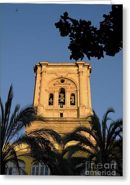 Granada Cathedral Tower IIi Greeting Card