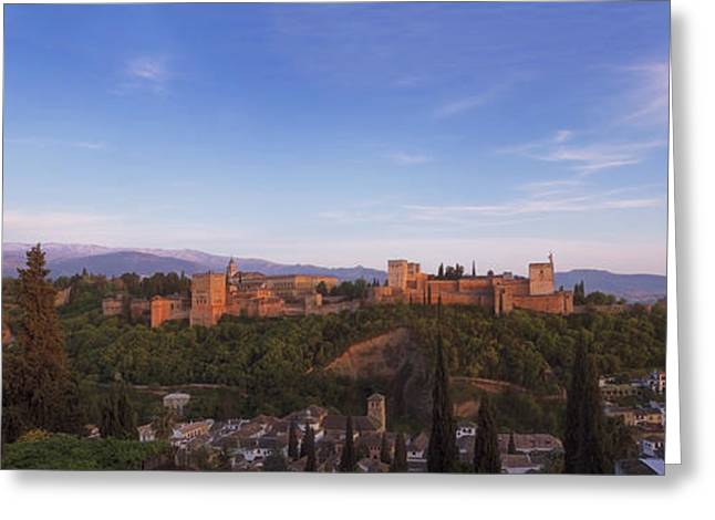 Granada Panorama Greeting Card