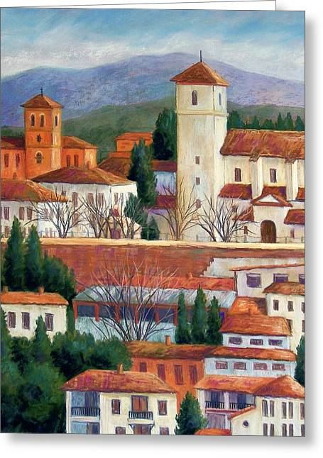 Granada View Greeting Card