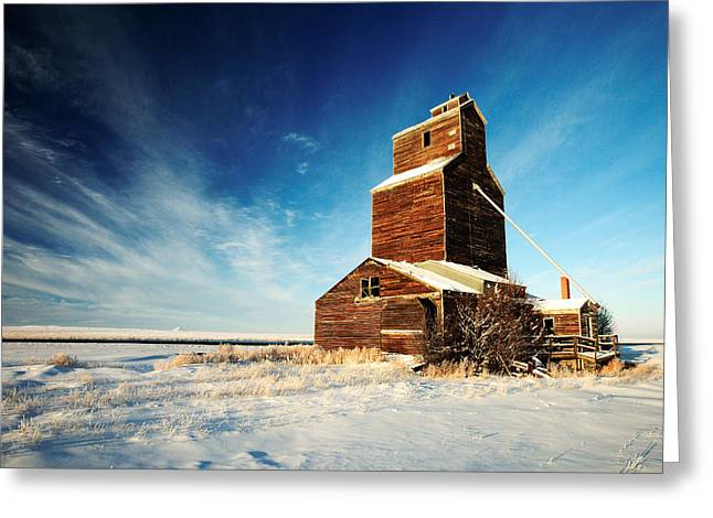 Granary Chill Greeting Card