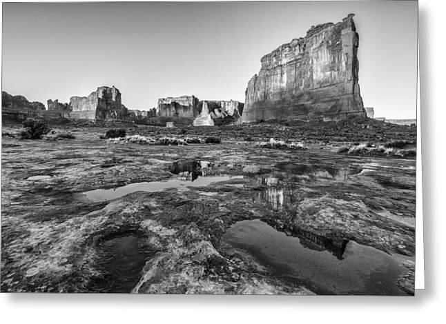 Grand Arches II Greeting Card by Jon Glaser