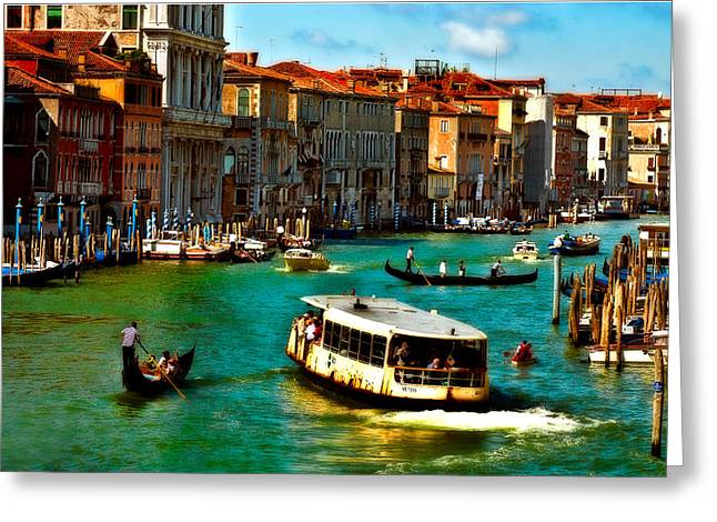 Grand Canal Daytime Greeting Card