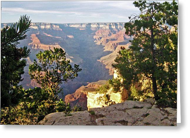 Grand Canyon No. 1 Greeting Card by Sandy Taylor