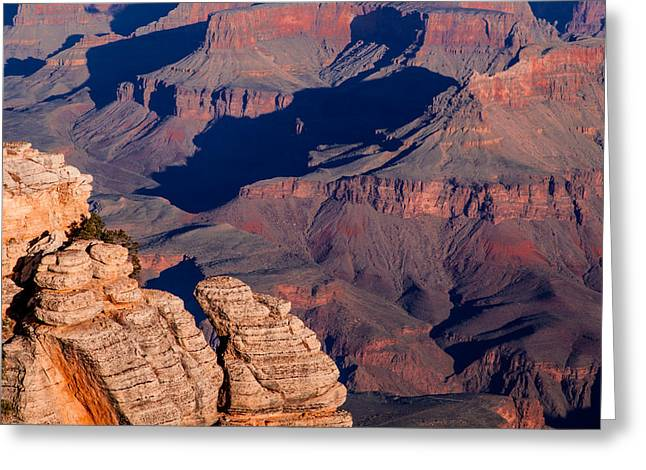 Greeting Card featuring the photograph Grand Canyon 21 by Donna Corless