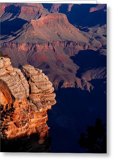 Greeting Card featuring the photograph Grand Canyon 24 by Donna Corless