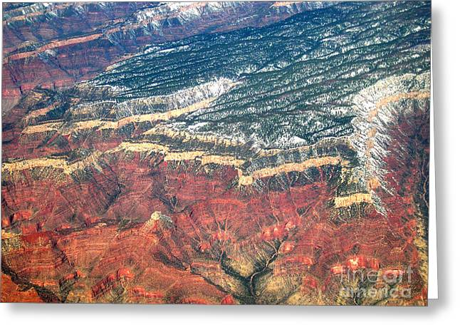 Grand Canyon 3 Greeting Card by Addie Hocynec