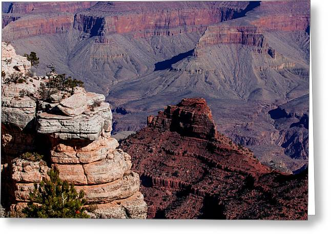 Greeting Card featuring the photograph Grand Canyon 3 by Donna Corless