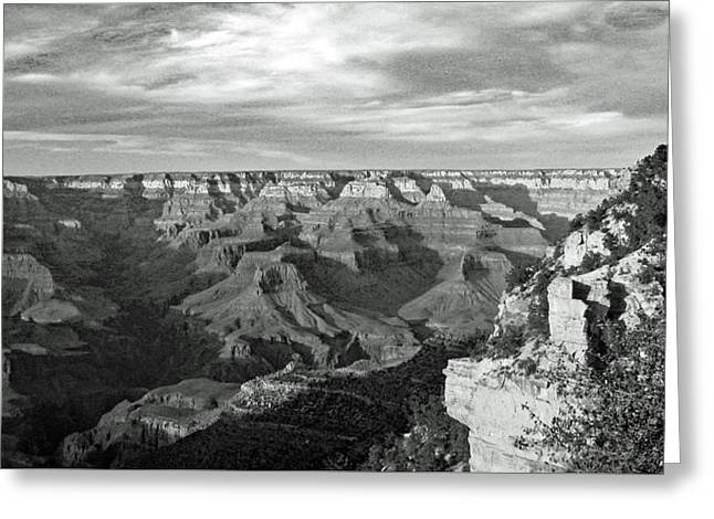 Grand Canyon No. 2-1 Greeting Card by Sandy Taylor