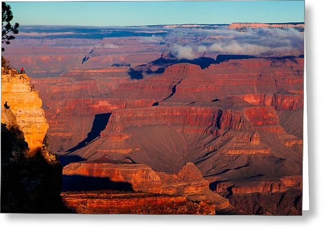 Greeting Card featuring the photograph Grand Canyon 32 by Donna Corless