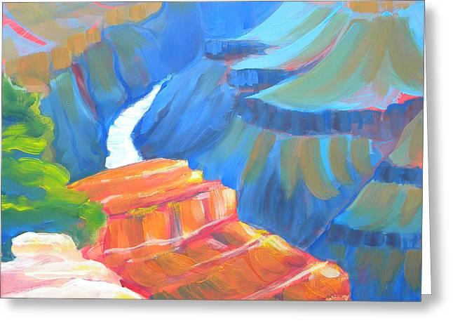 Grand Canyon 4 Greeting Card