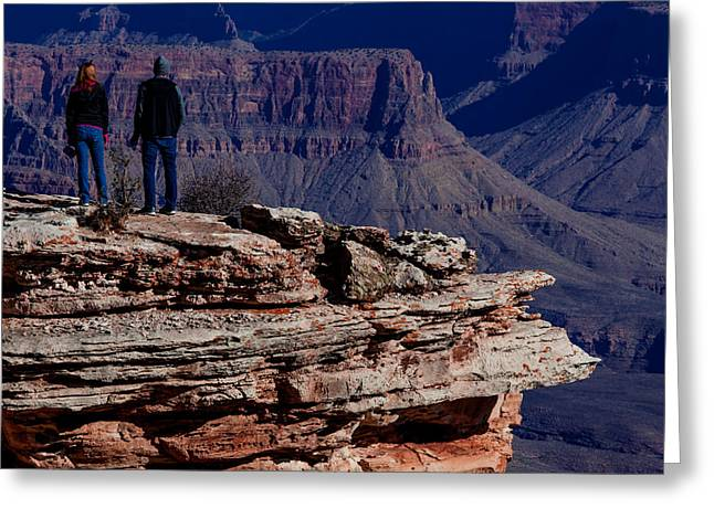 Greeting Card featuring the photograph Grand Canyon 5 by Donna Corless