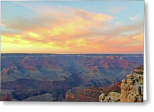 Grand Canyon No. 5 Greeting Card by Sandy Taylor
