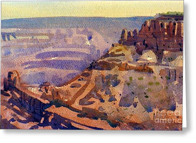 Grand Canyon 77 Greeting Card by Donald Maier
