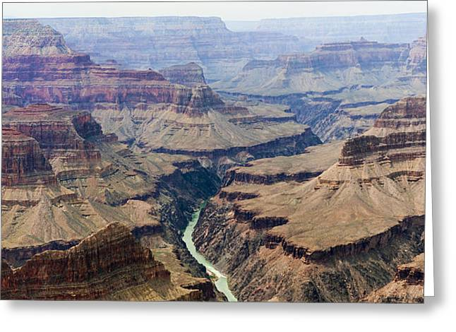 Grand Canyon And Colorado River 3 Of 5 Greeting Card