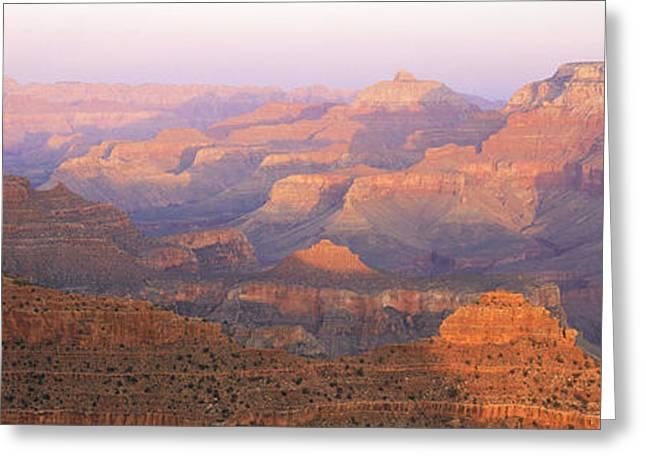 Grand Canyon, Arizona At Sunset Greeting Card