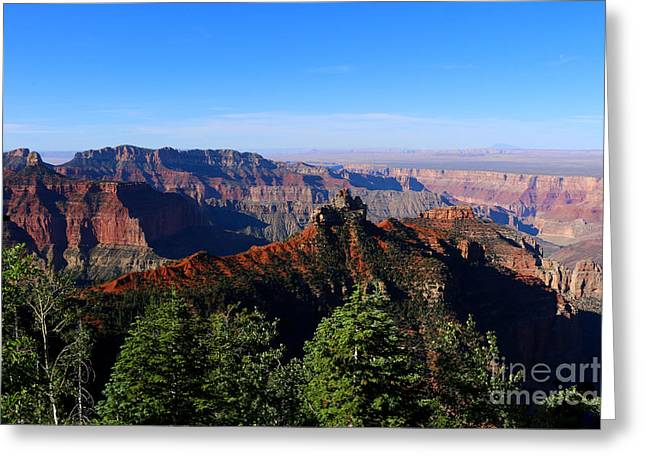 Grand Canyon Colors Greeting Card by Christiane Schulze Art And Photography
