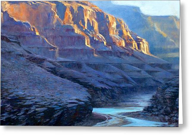 Grand Canyon Dawns Greeting Card