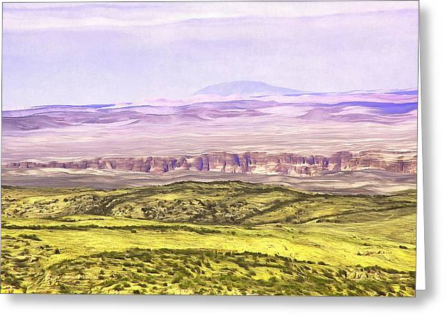 Grand Canyon Eastern Part Greeting Card