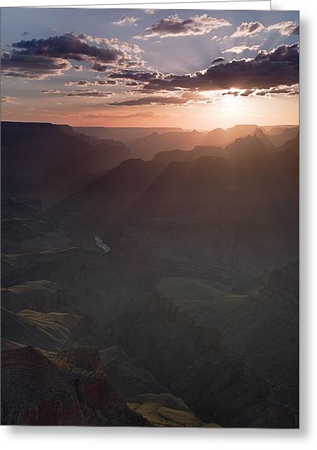Grand Canyon Glow Greeting Card