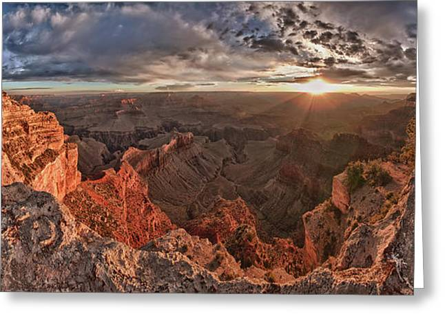 Grand Canyon I Greeting Card by Andreas Freund
