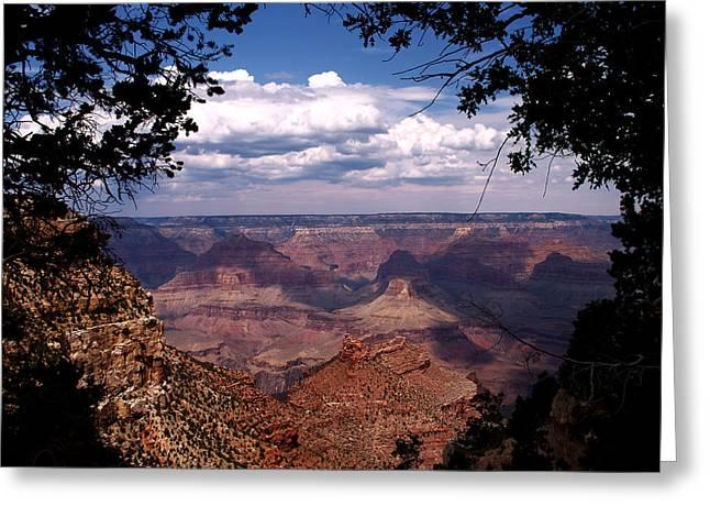 Grand Canyon II Greeting Card by Linda Morland