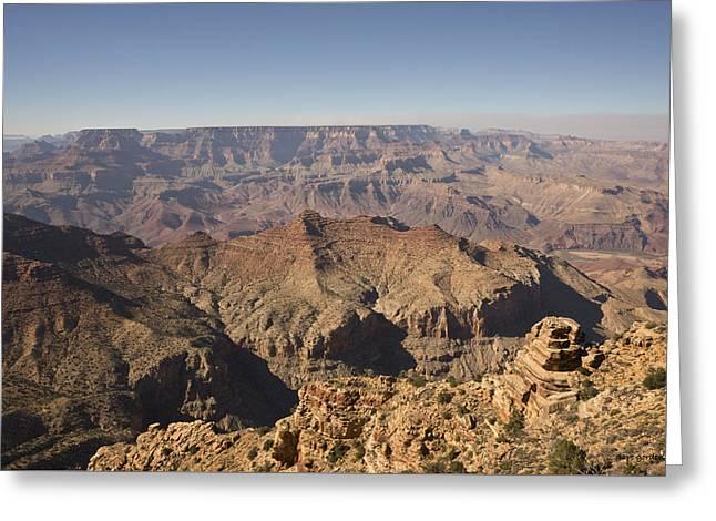 Grand Canyon Ix Greeting Card by David Gordon