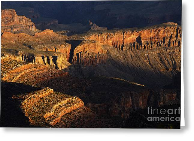 Grand Canyon Layers Of Time 2 Greeting Card
